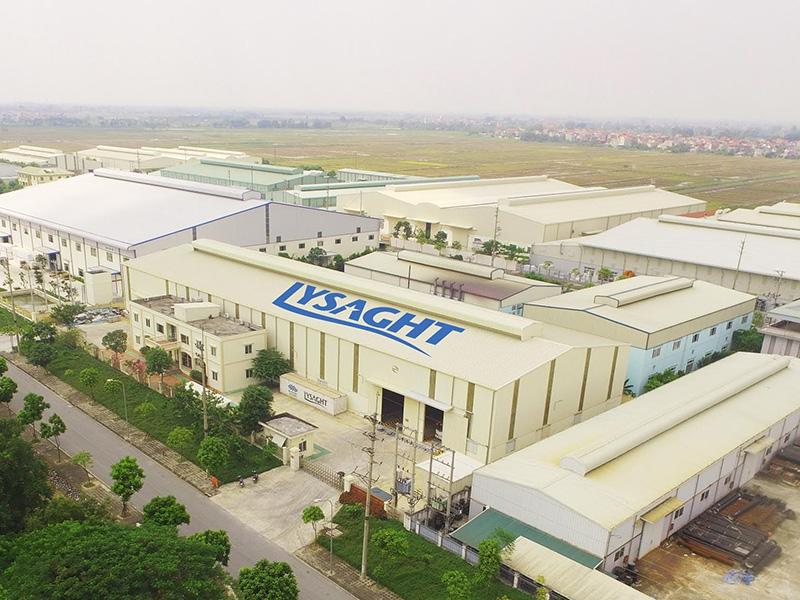 Nhà máy mới của NS BlueScope Lysaght tại Thường Tín (Hà Nội)).